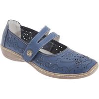 kengät Naiset Derby-kengät & Herrainkengät Boulevard  Blue