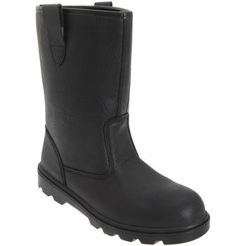 kengät Miehet Työ ja turvakengät Grafters  Black