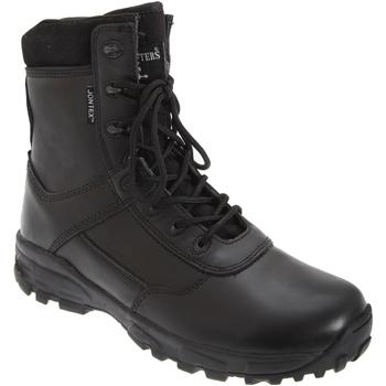 kengät Miehet Turvakenkä Grafters Ambush Black