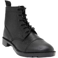 kengät Miehet Saappaat Grafters Grain Black