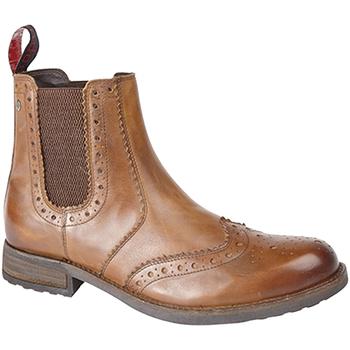 kengät Miehet Saappaat Roamers  Tan