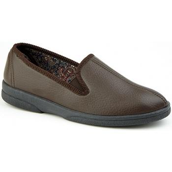 kengät Miehet Tossut Sleepers  Brown