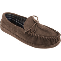 kengät Miehet Mokkasiinit Sleepers  Brown