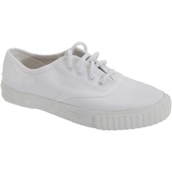 kengät Pojat Matalavartiset tennarit Dek  White