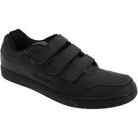 kengät Miehet Matalavartiset tennarit Dek Charing Cross Black
