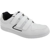 kengät Miehet Matalavartiset tennarit Dek Charing Cross White