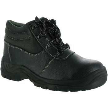 kengät Miehet Turvakenkä Centek FS330 Black