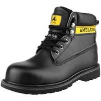 kengät Naiset Turvakenkä Amblers FS9 Black
