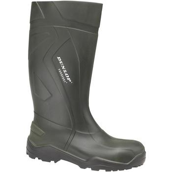 kengät Miehet Kumisaappaat Dunlop D760933 Green