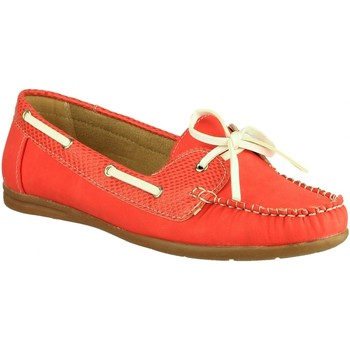 kengät Naiset Purjehduskengät Divaz BELGRAVIA Red