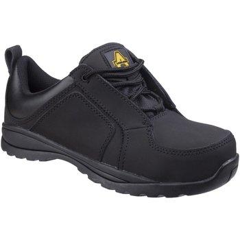 kengät Naiset Turvakenkä Amblers 59C S1P HRO Black