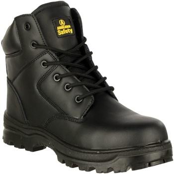 kengät Miehet Turvakenkä Amblers 006C S3 WP Black