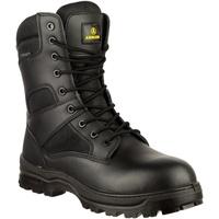 kengät Miehet Bootsit Amblers COMBAT WP Black
