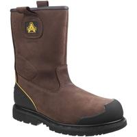 kengät Miehet Turvakenkä Amblers 223C S3 WP Brown