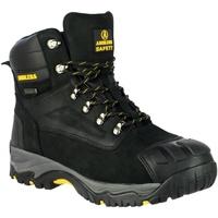 kengät Miehet Turvakenkä Amblers 987 S3 WP Black