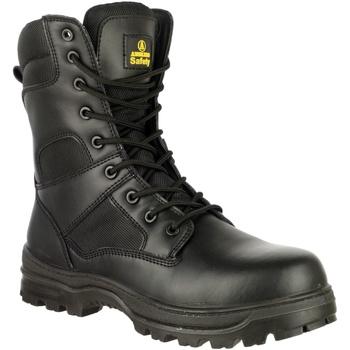 kengät Miehet Turvakenkä Amblers 009C S3 Black