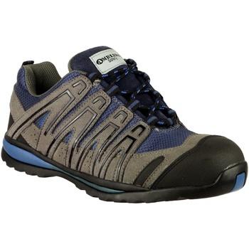 kengät Miehet Vaelluskengät Amblers 34C S1P HRO Blue