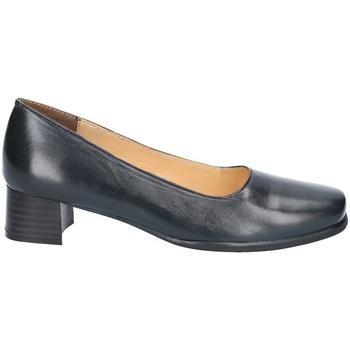 kengät Naiset Korkokengät Amblers WALFORD SHOE X WIDE (BLACK/NAVY) Navy