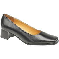 kengät Naiset Korkokengät Amblers WALFORD (BLACK/NAVY) Black