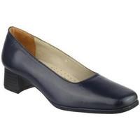 kengät Naiset Korkokengät Amblers WALFORD (BLACK/NAVY) Navy