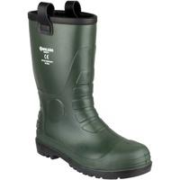 kengät Miehet Turvakenkä Footsure 97 GREEN PVC RIGGER Green