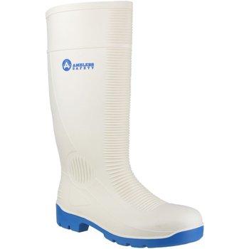 kengät Miehet Turvakenkä Amblers FS98 Safety White Wellingtons White