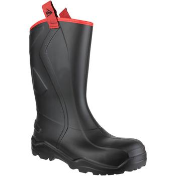 kengät Miehet Turvakenkä Dunlop PUROFORT+ RUGGED C762043 Black