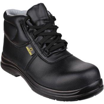 kengät Miehet Turvakenkä Amblers FS663 Safety ESD Boots Black