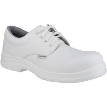 kengät Miehet Derby-kengät Amblers FS511 White Safety Shoes White