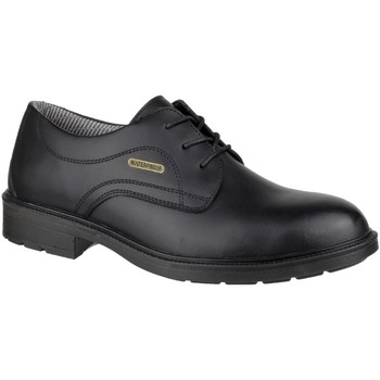 kengät Miehet Derby-kengät Amblers FS62 Waterproof Safety Shoes Black