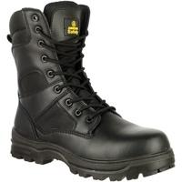 kengät Miehet Turvakenkä Amblers FS008 Safety Boots (Euro Sizing) Black