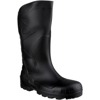 kengät Turvakenkä Dunlop DEVON  WELLY Black
