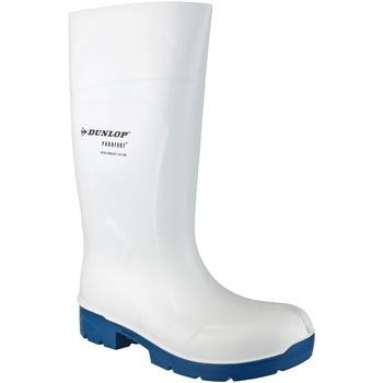 kengät Kumisaappaat Dunlop Food Multigrip Safety White