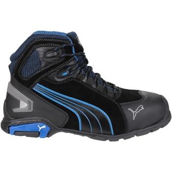 kengät Miehet Korkeavartiset tennarit Puma Rio Mid Black