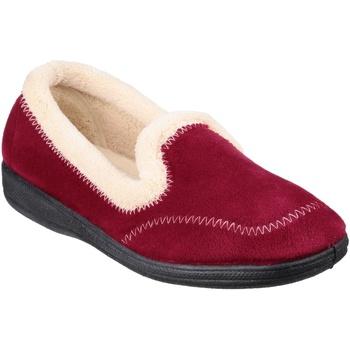 kengät Naiset Tossut Fleet & Foster  Burgundy
