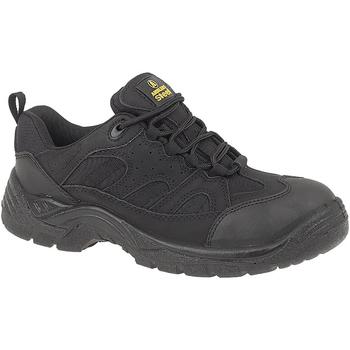kengät Miehet Turvakenkä Amblers FS214 BLACK TRAINER SHOE Black
