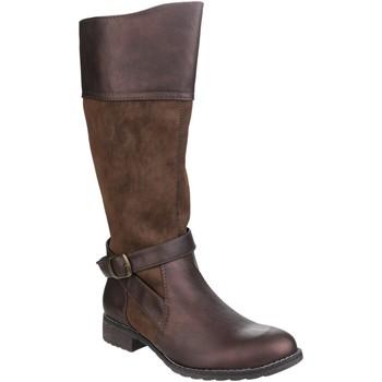 kengät Naiset Saappaat Divaz  Brown