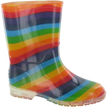 kengät Tytöt Kumisaappaat Cotswold PVC KIDS RAINBOW Multi