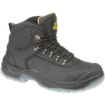 kengät Naiset Työ ja turvakengät Amblers FS199 (BLACK) Black
