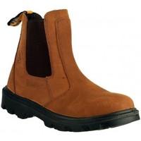kengät Miehet Bootsit Amblers FS131 SAFETY Brown