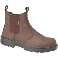 kengät Miehet Bootsit Amblers FS128 Safety Brown