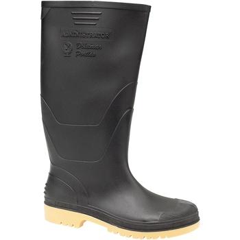 kengät Miehet Kumisaappaat Dikamar Administrator Wellington Black