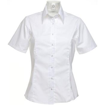 vaatteet Naiset Paitapusero / Kauluspaita Kustom Kit K742F White