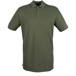 vaatteet Miehet Lyhythihainen poolopaita Henbury HB101 Olive