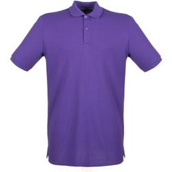vaatteet Miehet Lyhythihainen poolopaita Henbury HB101 Purple