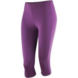 vaatteet Naiset Legginsit Spiro SR284F Grape