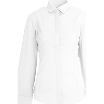 vaatteet Naiset Paitapusero / Kauluspaita Brook Taverner Trevi White