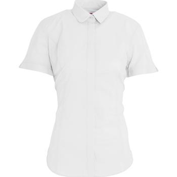 vaatteet Naiset Paitapusero / Kauluspaita Brook Taverner BK133 White