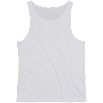 vaatteet Hihattomat paidat / Hihattomat t-paidat Mantis M133 White