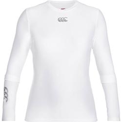vaatteet Miehet T-paidat pitkillä hihoilla Canterbury CN360 White